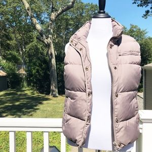J. Crew Puffer Down Feather Vest